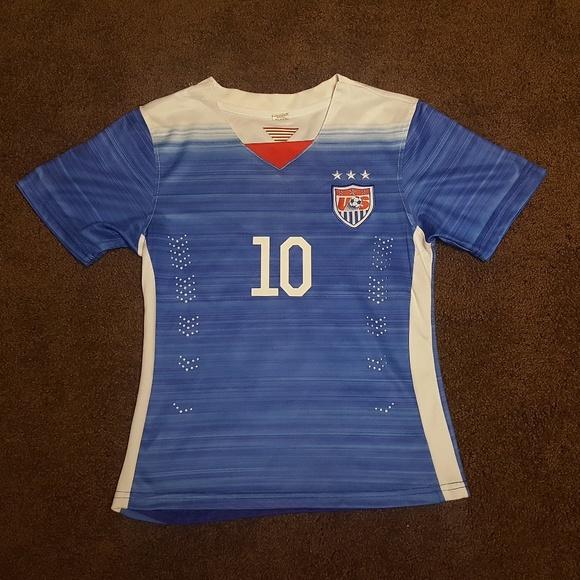 Shirts Tops Carli Lloyd Kids Team Usa Jersey 10 Youth 68 Poshmark
